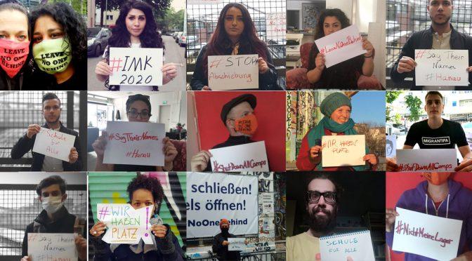 Online-Aktionen zur #Innenministerkonferenz #IMK2020